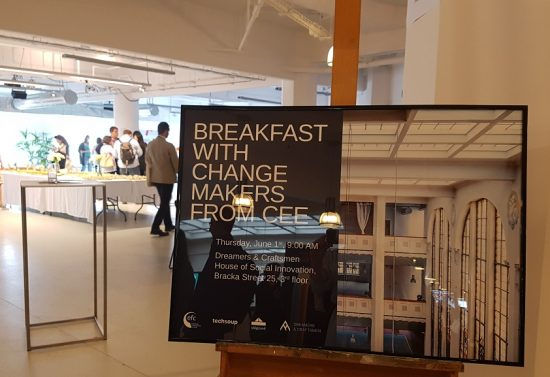 Breakfast With Change Makers from CEE