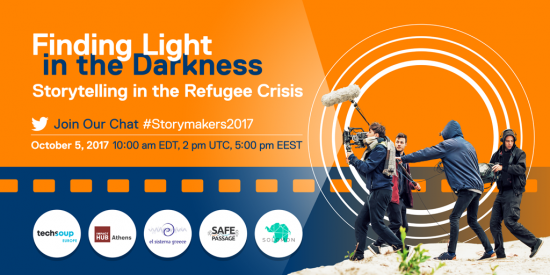 Storytelling in the Refugee Crisis Twitter Chat